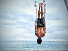 Today is really a day to feel upside down. The Democrats really didn't have any integrity and alignment on what's important in a presidential vote. How can you lose in sympathy with the white working class,  if your opponent is a super rich trump tower bu