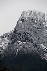 Crags (Mason Aldridge) Tags: canon 6d ff magicdrainpipe 80200 8020028 f28 70200 zoom fullframe eos mountain mountains canada britishcolumbia bc fraservalley snow winteriscoming november snowline coquihalla highway1 landscape trees rockies