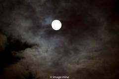 moon & clouds (image mine) Tags: fullmoon nite