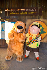 Dug and Russell (disneylori) Tags: russell dug up pixardisney charactersnonface charactersmeet greet characterscharactersanimal kingdomwalt disney worlddisney world wdw