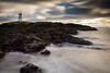 Elie Lighthouse (Fifescoob) Tags: elie fife coast storm clouds canon eos 5ds leefilters scotland landscape scenic scenery sea lighthouse