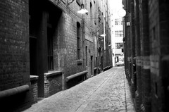 Alley way in Melb (Marco Page) Tags: om1 50mm f14