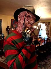 My Halloween 2016 (Police-Box-Traveller) Tags: nightmareonelmstreet part 4 part4 dream master glove darkdreamdesign costume darkride mask sweater