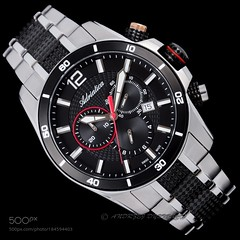 Adriatica Watch Design.jpg (HoustonHVAC170) Tags: black elegance minute metal wrist product photography hour commercial second watch time watches adriatica men
