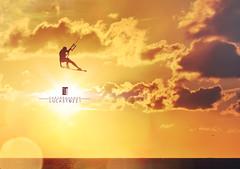 GOLDEN BOY (lucastozzi) Tags: kite kitesurf kitesurfing sunset tarifa cadiz canon 5dmarkiv