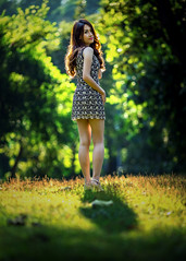 *** (Fevzi DINTAS) Tags: outdoor nature light portrait pose modeling photograpy style fashion dress look single alone lady girl pretty beautiful lovely sweet cute asian thailand bokeh trees feel waiting happy paza140
