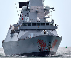 HMS Dragon (Bernie Condon) Tags: destroyer warship navy rn royalnavy uk british type45 daringclass military portsmouth hmnb