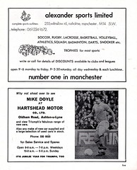 Manchester City vs Stoke City - 1974 - Page 5 (The Sky Strikers) Tags: manchester city stoke maine road 50 years football league first division match magazine 10p