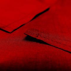 very red (vertblu) Tags: red deepred silk fabric stitches texture textures textur texturesquared monochrome extrafinesilk 500x500 bsquare vertblu colourful colour diagonal macromode macro makro minimal minimalism minimalismus abstract abstractfeel abstraction kwadrat dof