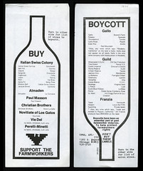 Boycott Wine, 1974 (Regional History Center & NIU Archives) Tags: boycott demonstration protest niu northernillinoisuniversity students activism