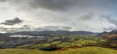 View from Latrigg (JJFET) Tags: storm desmond anniversary 2016 view from latrigg derwentwater keswick bassenthwaite lake