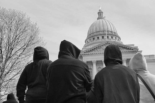 Hoodie Rally in Memory of Trayvon Martin by Madison Guy, on Flickr