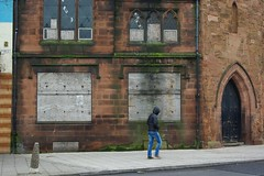 20120129-37_Coventry_Boarded up - The Old Grammar School - A Criminal Waste (gary.hadden) Tags: urban cityscape boardedup waste coventry bishopstreet photocourse oldgrammarschool coventrycitycentre tothehills garyhadden