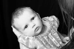 Chloe (Jessica200192) Tags: new uk pink blue 2 portrait baby cute girl studio photo eyes shoot dress photoshoot photos chloe years months asleep