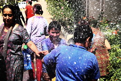 Holi at Sriram Spandhana