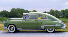 1949 Oldsmobile (Vriendelijkheid kost geen geld) Tags: oldtimer flevoland lelystad 2012 youngtimer brik vaderdag oldtimerdag oudeauto