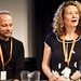 Peter Engel and Emma Davie at the Danish Documentary Focus Event
