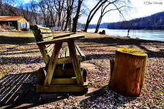 Freeport, PA (JayCass84) Tags: camera wood trees fish tree nature water beautiful rural river bench landscape landscapes fishing woods flickr pennsylvania awesome freeport natureshots natureshot rurallandscape rurallandscapes instagram instagramapp