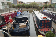 Vickery's Wharf (R M Collins) Tags: london canal grandunion limehousecut