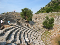 Kaunos ancient theatre (Radu Bucuta) Tags: holiday turkey easter dalyan caunos 2013 turcia kaunos