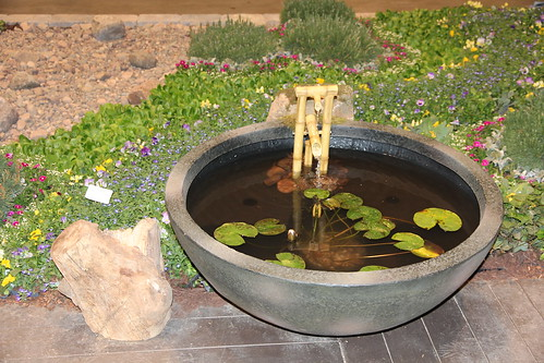 Small scale water feature