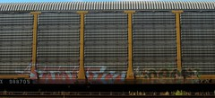 ECSOE '02, NECS (YardJock) Tags: train graffiti freight nsf autorack