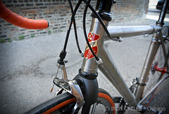 Lynskey R340 (Iron Cycles) Tags: travel red 3 bike 4 ss fork r pro carbon custom titanium michelin 2012 fsa 340 ksyrium sram couplers 2013 r340 pro3 lynskey enve pro4