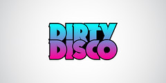 Dirty Disco (Logo) (estheticcore) Tags: party music records broken logo disco typography hawaii dirty identity entertainment clubs fonts edm raves