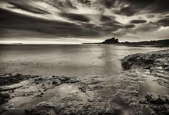 A Favourite Place (Chris Lishman) Tags: castle coast blackwhite ancient northumberland coastal northeast bamburgh iconic farneislands northeastcoast bamburghcastle farnes iconicview chrislishman chrislishmanphotography chrislishmanfineartphotography bamburghphotograph photographofbamburgh
