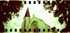 cathedral (bebopbeboplomography) Tags: church architecture 35mm indonesia rocket bebop sprocket analoq bebopbebop