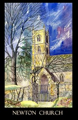 Newton church (tina negus) Tags: art church painting exhibition lincolnshire winner newton lct