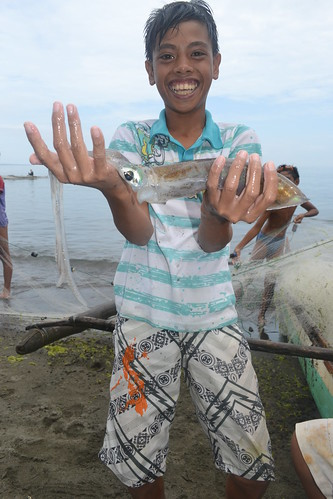 Catch for the day, Olingan, Dipolog City, Philippines. Photo by Sarah Esguerra, 2013.