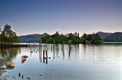 """The Poles"" at Keswick. (paul downing) Tags: sunset spring nikon derwentwater filters keswick hitech thelakedistrict 0609 gnd pd1001 d7000 pauldowning pauldowningphotography"