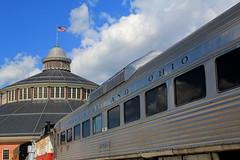 A Beautiful Day At The Museum (Hunter Lohse) Tags: railroad museum train engine railway baltimore locomotive bo railfan maryand