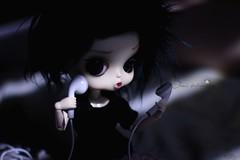 Berry (Buyl Humpty Dumpty) (Sheri.) Tags: music green fur doll ipod cut wig pullip humpty dumpty byul