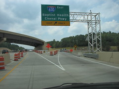 630 East (US 71) Tags: highways arkansas roadconstruction i430 i630 interstate430 interstate630
