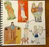 sterrenbeelden (Gertie Jaquet) Tags: zodiac astrologie horoscoop sterrenbeeld cursusillustratie