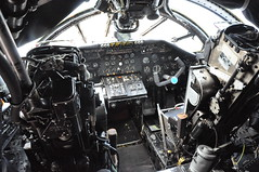 Cockpit of Handley Page HP-80 Victor B1A - XH 592 - Cold War Jet-Aircraft Museum Bruntingthorpe Airfield (Rob Lovesey) Tags: cold museum war cockpit victor page xh airfield handley 592 jetaircraft bruntingthorpe b1a hp80
