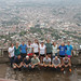 Hondura cross-cultural group - overlooking Tegucigalpa