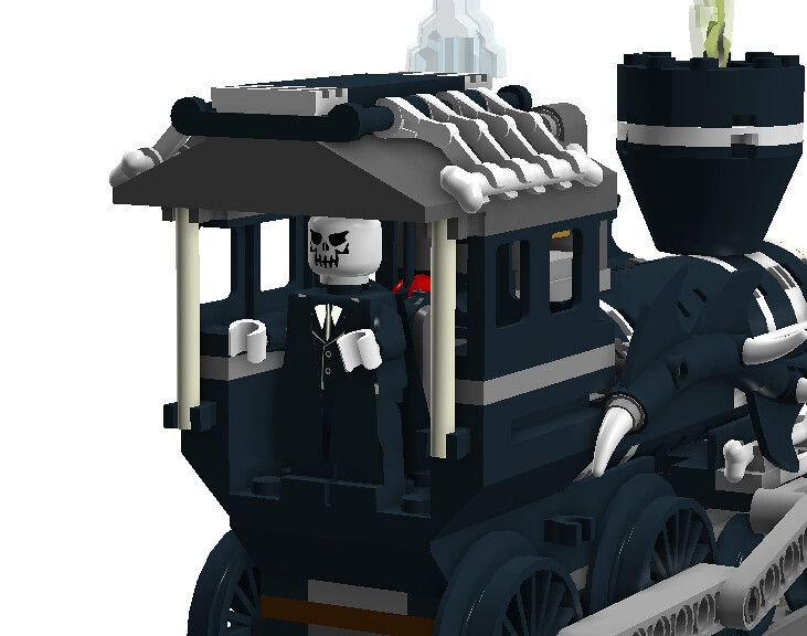 jack skellington engineer tf twitch tags santa christmas halloween train pumpkin skeleton - Lego Halloween Train