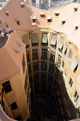 BARCELONE : LA PEDRERA (Reportages, voyages et rencontres.) Tags: gaudi jerome francois barcelone lapedrera lacasamila lacasamilalapedreraguell jeromefrancois