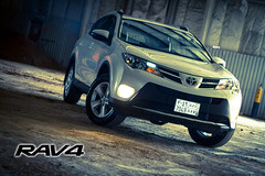 Rav4 .. Ready for the Challenge (Toyota Saudi Arabia) Tags: auto house canon rally rig 7d saudi toyota housing jeddah rav4    auotos