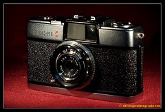 OLYMPUS PEN S. 1 (adriangeephotography) Tags: camera old classic 120 film leather 35mm vintage lens photography early box antique rangefinder collection chrome adrian accessories gee array collectable fujis5pro nikon55mmf28 adriangeephotography
