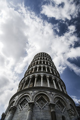 Falling up (Michele Cannone) Tags: sky italy tower clouds italia nuvole torre pisa cielo tuscany toscana