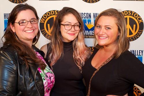 Jessica Kerr, Jaimie Caprotti and Jannah Fliegel