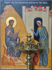Samaritan Woman Icon (bobosh_t) Tags: icons orthodox iconography