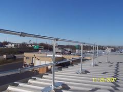 Metal Roof Railing