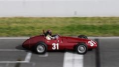31 Maserati 250F 2501/2523  . 2015 Esperit de Montjuïc Barcelona _9109 (antarc foto) Tags: guillermo fierro esp maserati 250f 25012523 historic grand prix car association 2015 esperit de montjuïc catalunya classic revival circuit barcelona