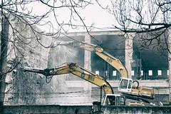 Melegprget (bodros) Tags: abandoned concrete budapest demolition beton ganz bonts melegprget