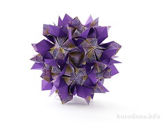 Luxuriant variation (ronatka) Tags: purple violet rectangle variation luxuriant modularorigami kusudama sonobe efs18135mmf3556is nataliaromanenko rectangle23 luxuriantsonobe